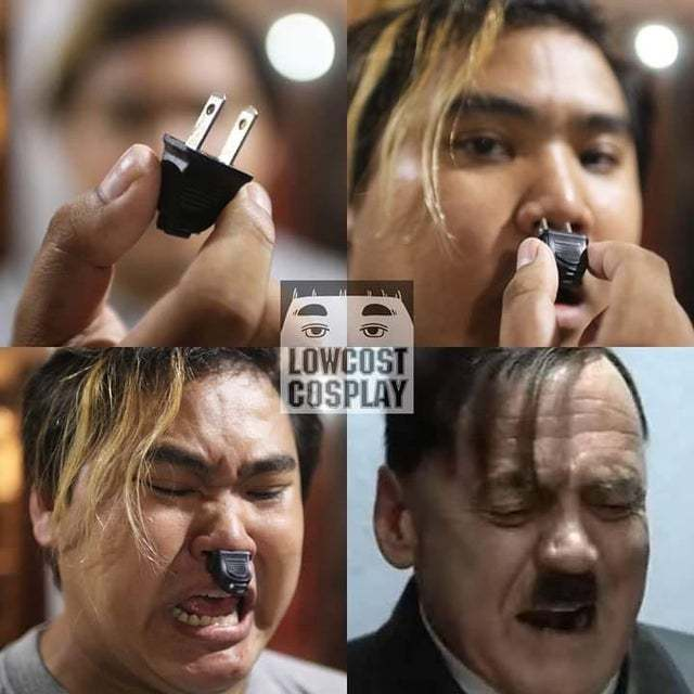 Hitler cosplay - meme