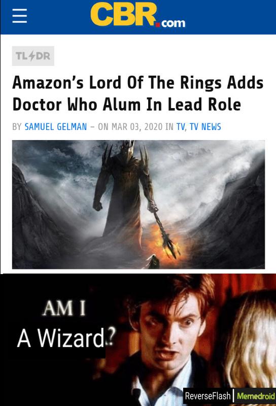 Am I a wizard? - meme