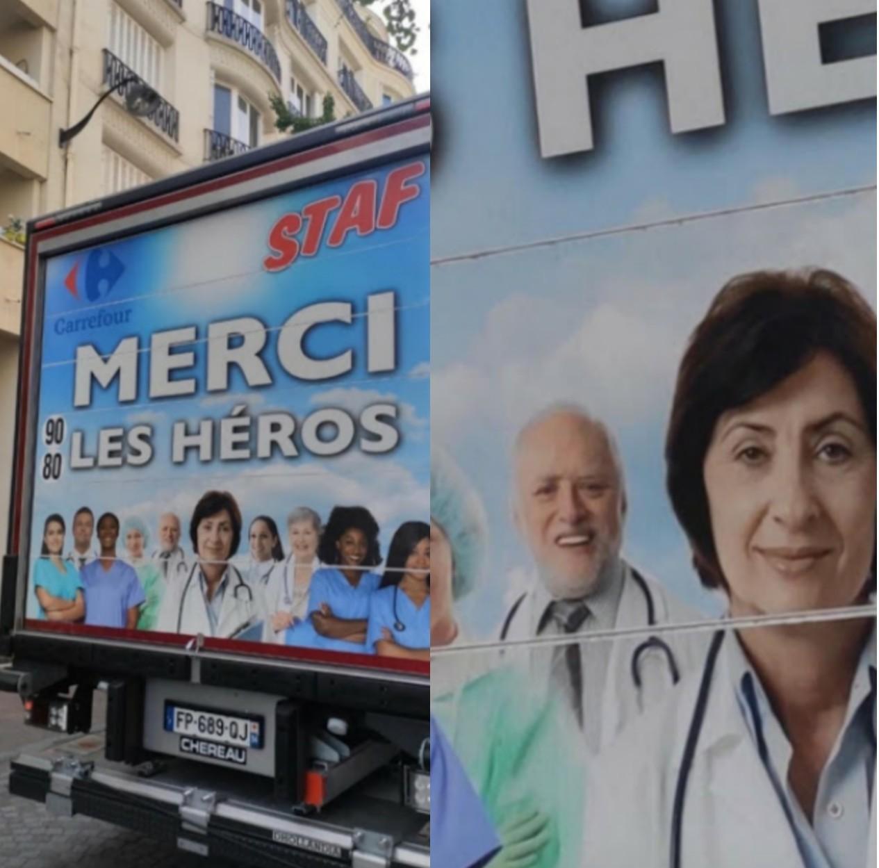 Héroes - meme