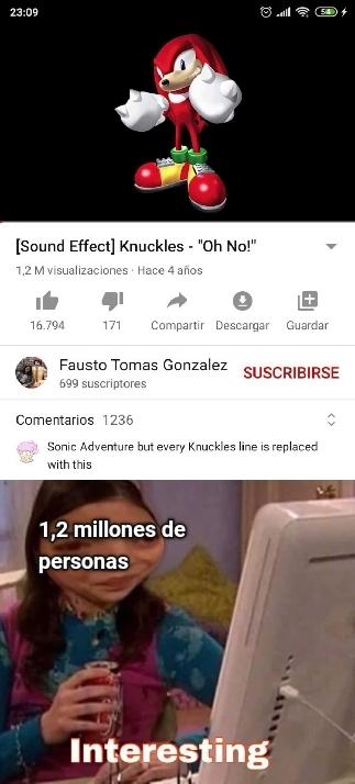 Perdón por la calidad - meme