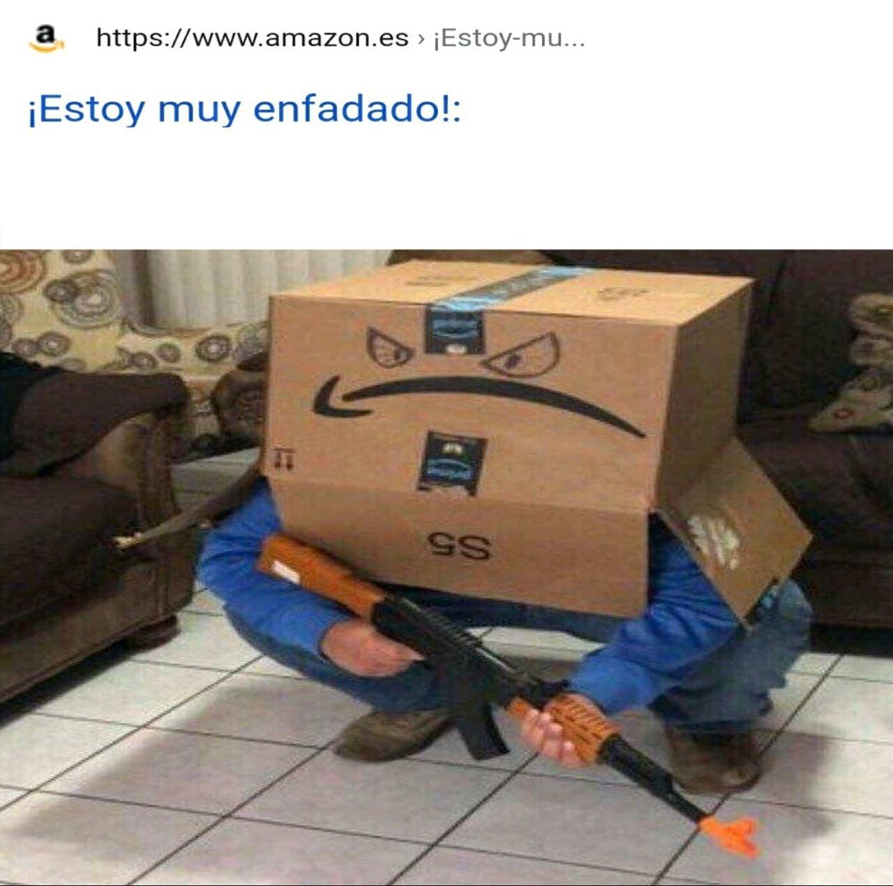Amazon try harder - meme