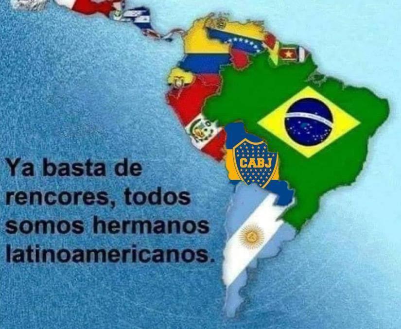 hermanos latinoamericanos - meme