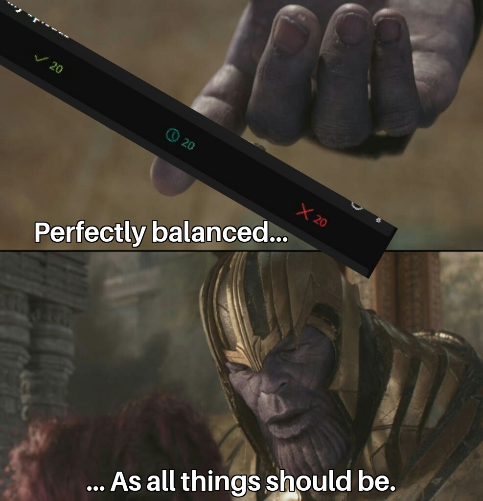 Perfeclty balanced... - meme