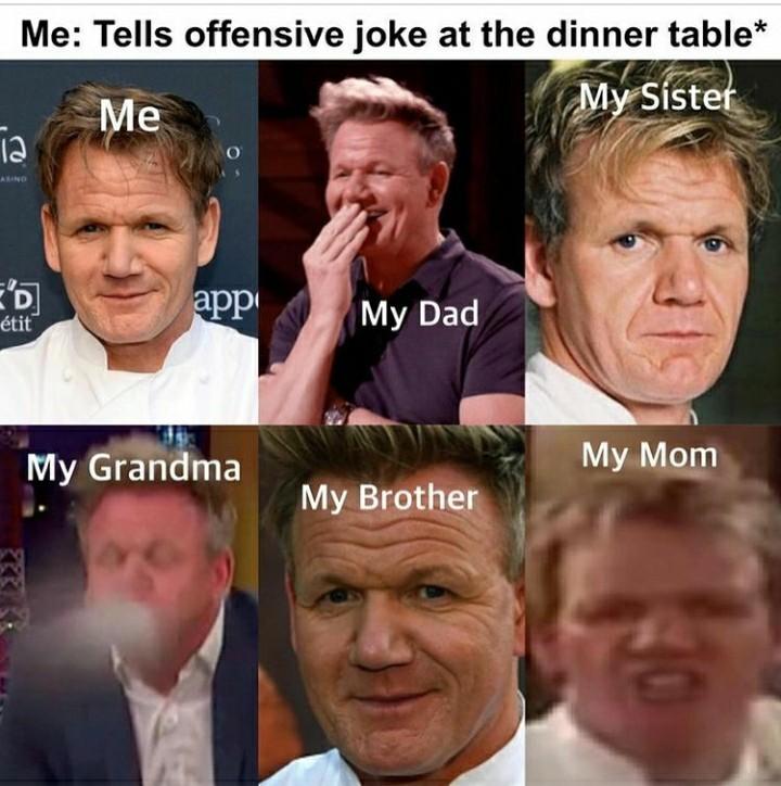 Favorite food? - meme