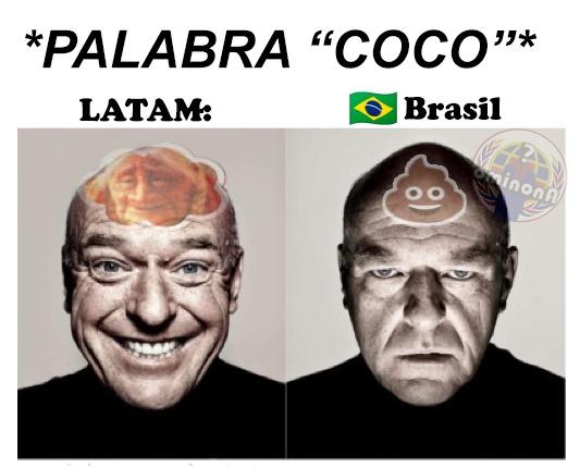 COCO en Brasil  - meme