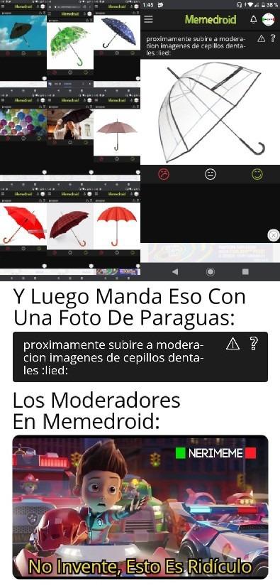El De Las Escobas Lo Volvió A Hace Otra Vez (Ahora Con Paraguas) - meme