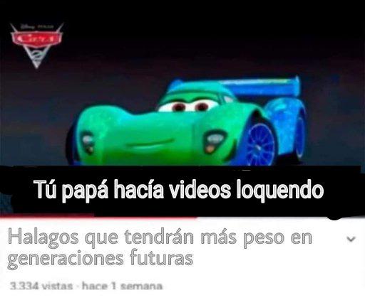 Tú papá hacía videos loquendo jsjsjs - meme