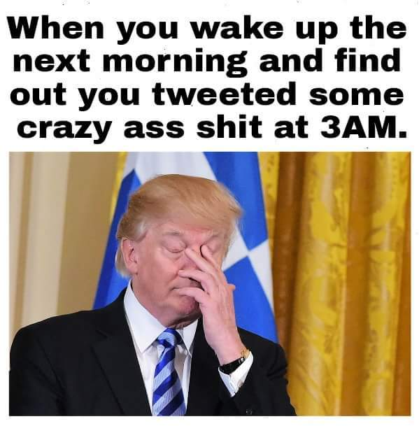 Tweetin trump - meme