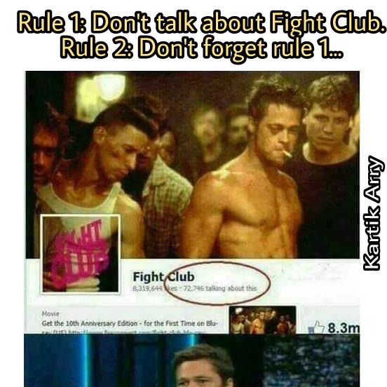 Facebook broke dem' rules... - meme