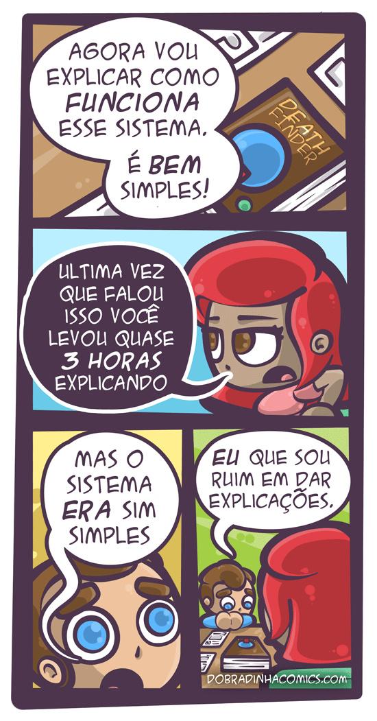 Sistema Simples - meme