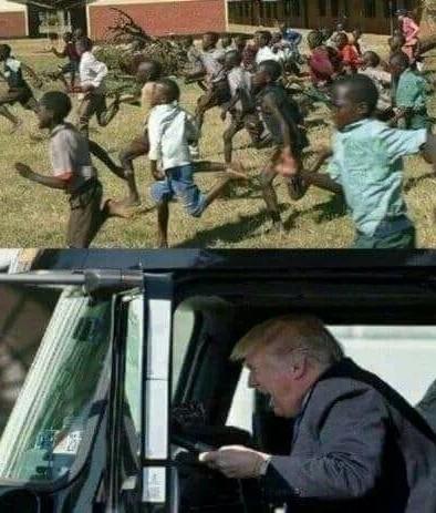 Trump new anti immigration policy - meme
