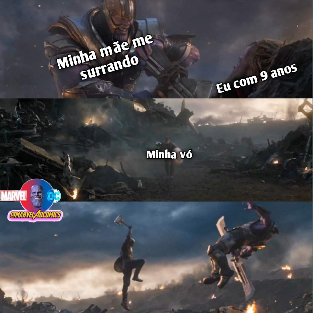socorro vó - meme