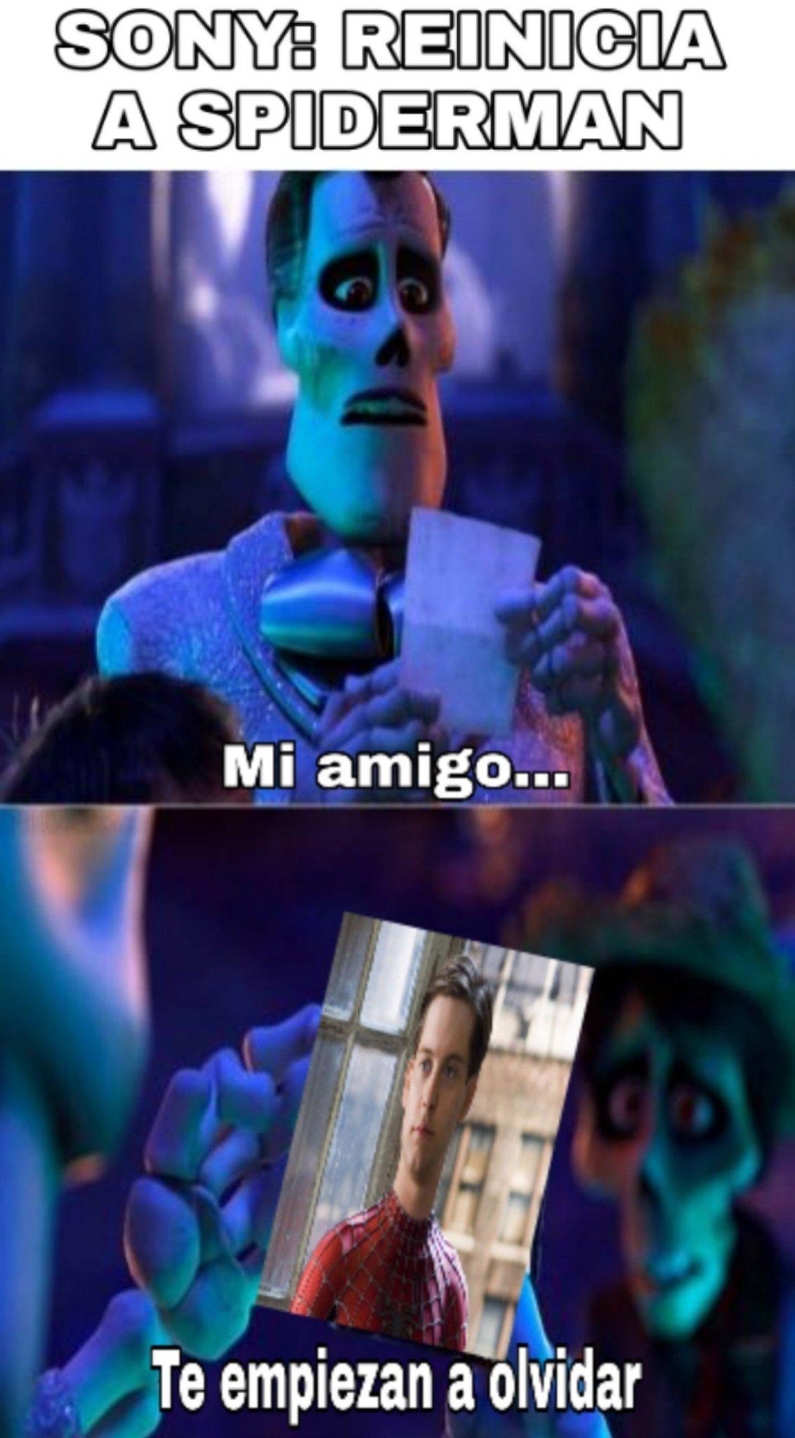 El demente - meme