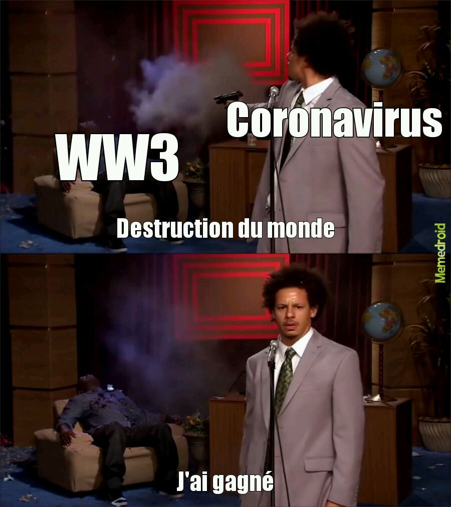 WW3 vs Coronavirus - meme