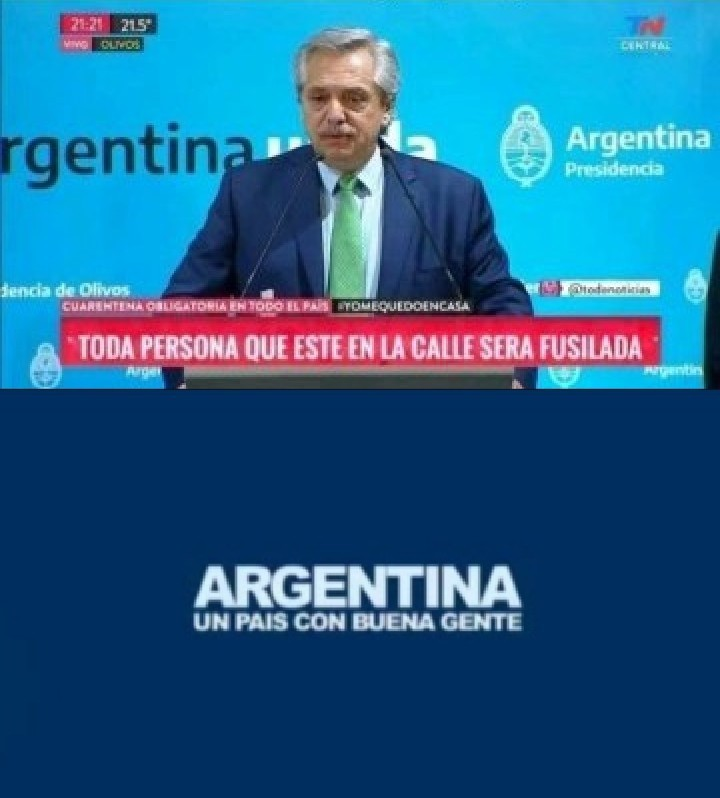 No soy argentino - meme