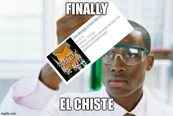 El vídeo es 100% real - meme