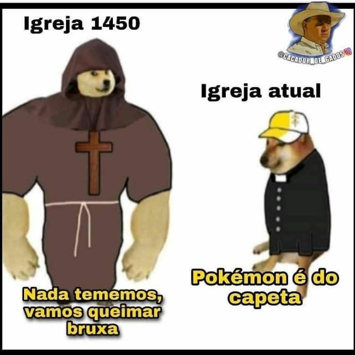 igreja - meme
