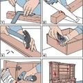 Un profesional de la carpintería