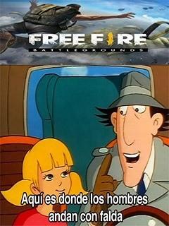 Re quemado el chiste de free pero fue - meme