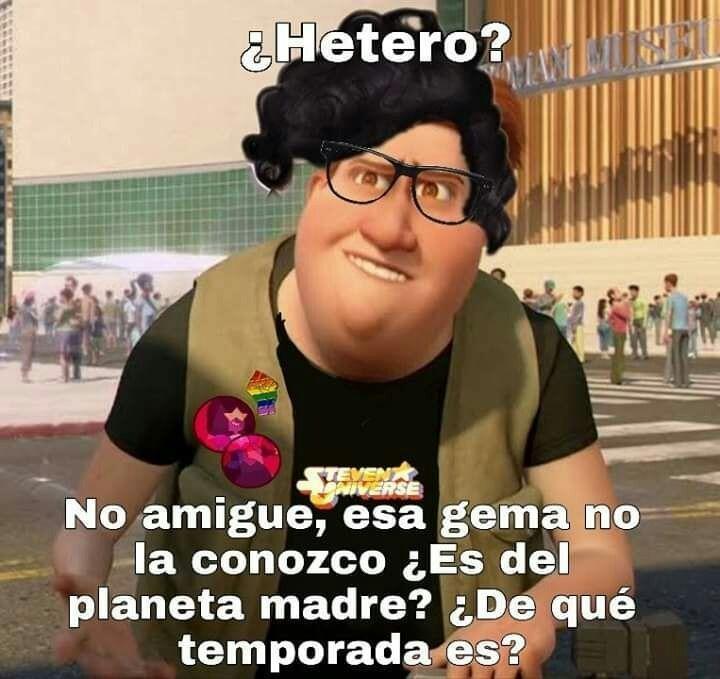 Hetero? - meme