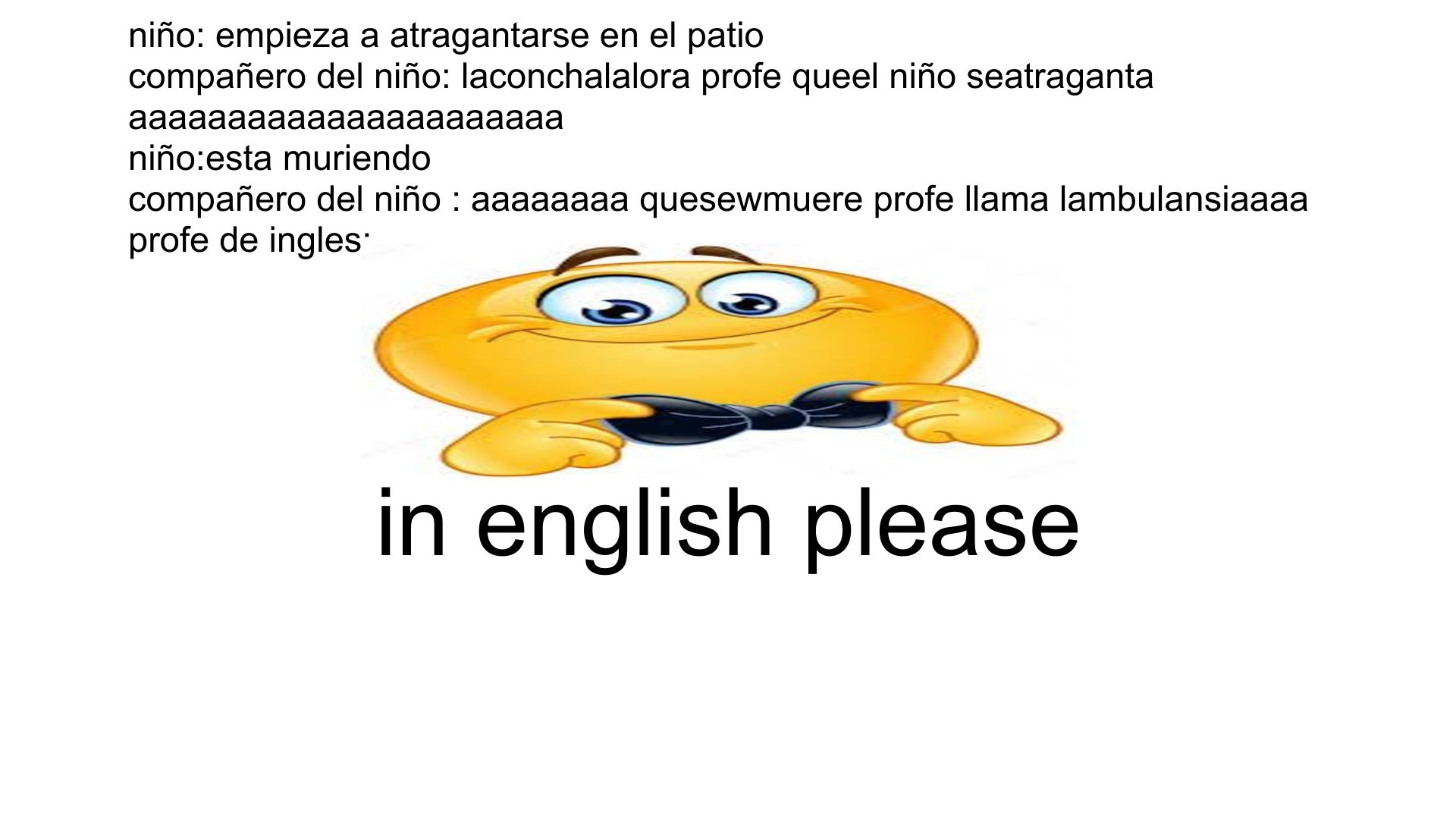 in english pleas - meme