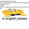 in english pleas