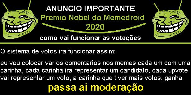 sistema de votos - meme