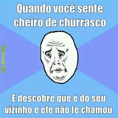 Churrasco - meme