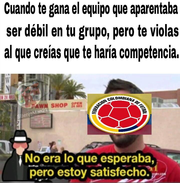 Esta Colombia, tan rara! - meme
