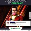 Shazam caraio