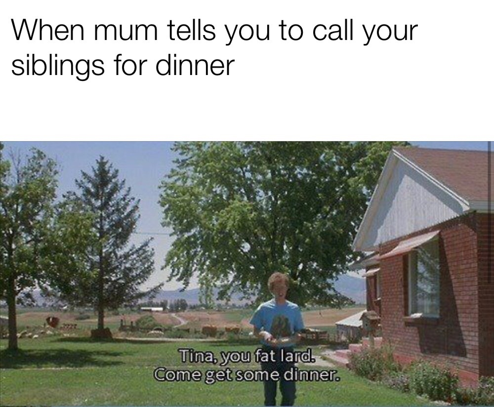 set the table to will ya - meme