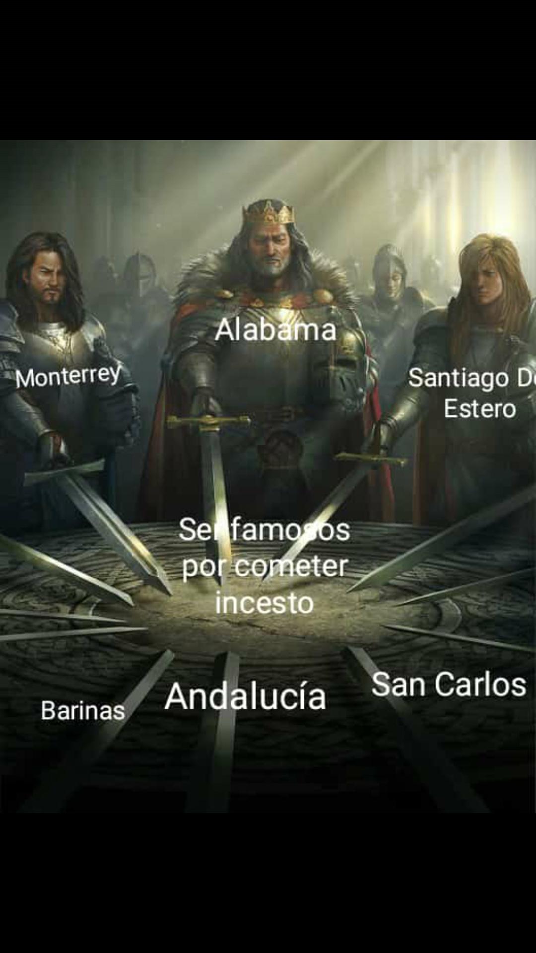 Se me cortó en la parte de Santiago :c - meme