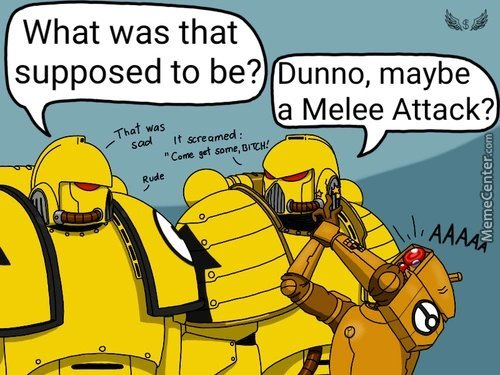 Tau sucks. - meme