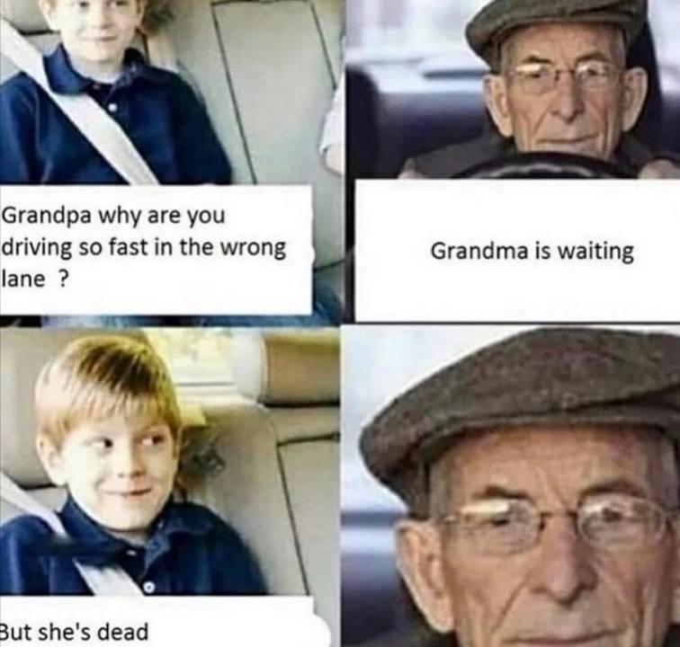 you get em grandpa - meme