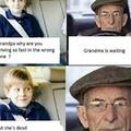 you get em grandpa