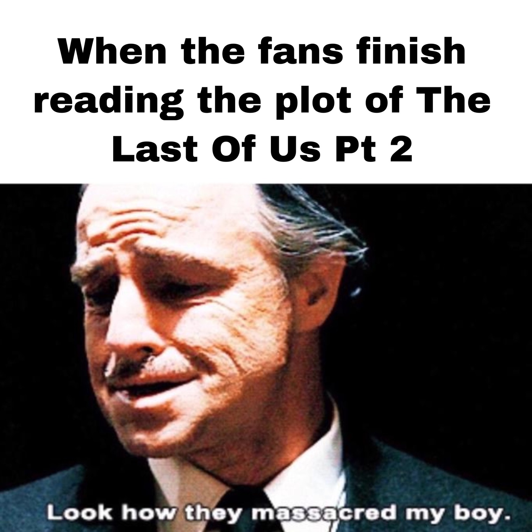 The Last of Crunch pt 2, well done Naughty Dog - meme