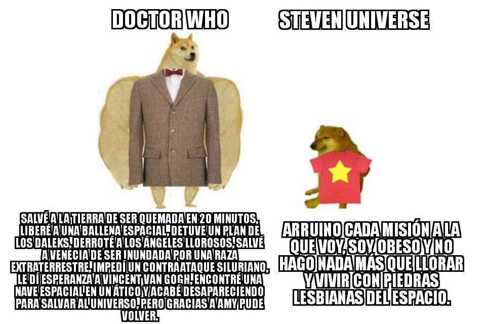 Doctor Who es la hostia - meme