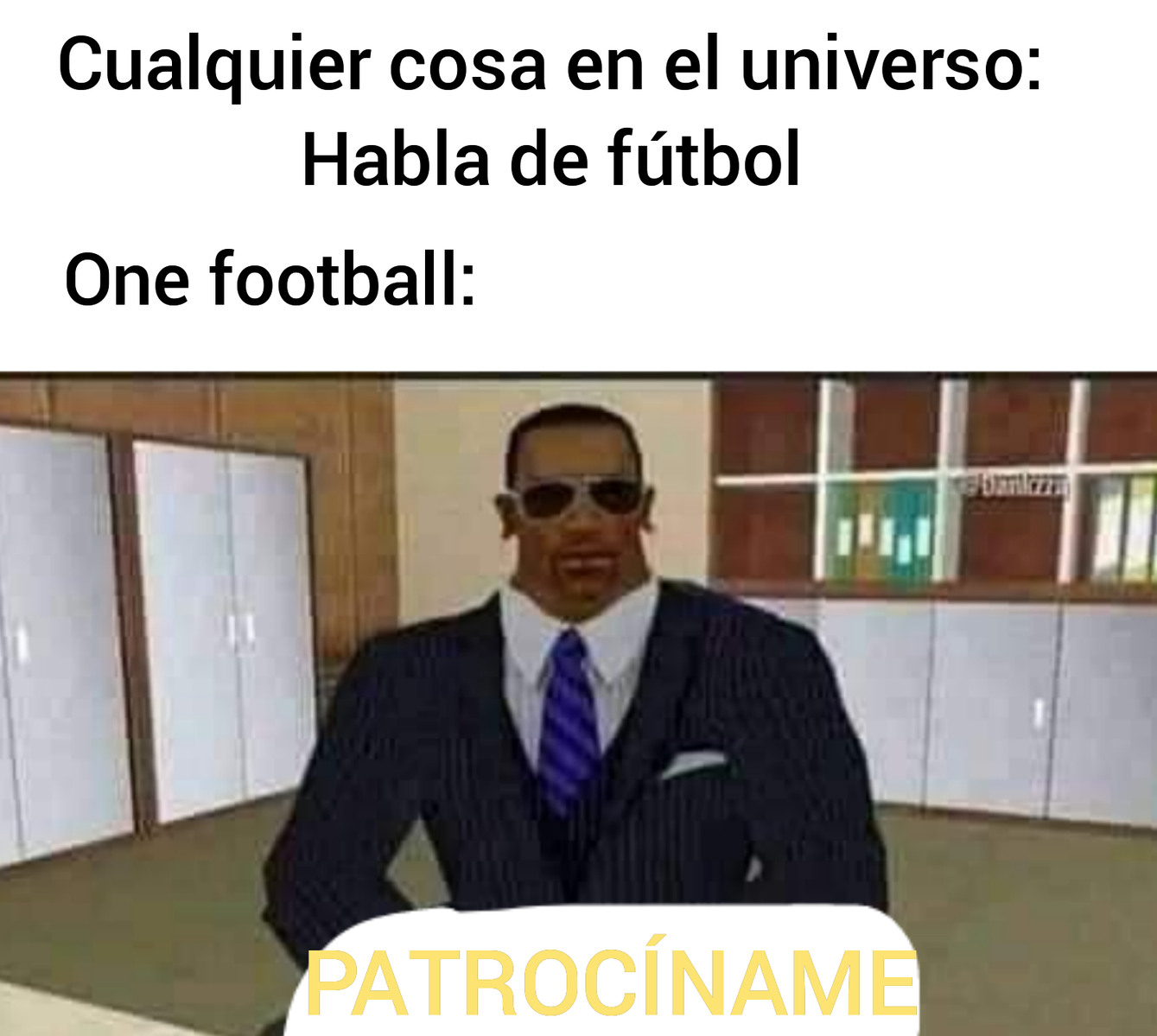 PD: OneFootball es genial, descárgatela - meme
