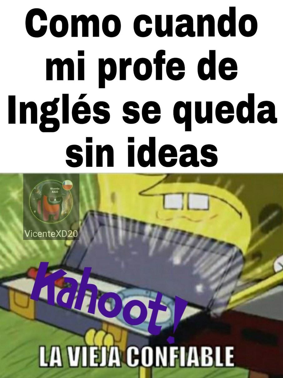 Kahoot Confiable - meme