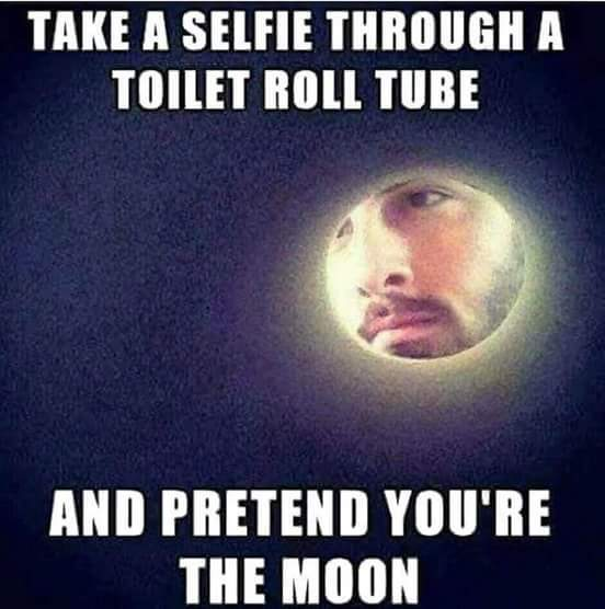 Im the fffing moon - meme
