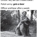 Wojtek the bear for those interested in reading about him