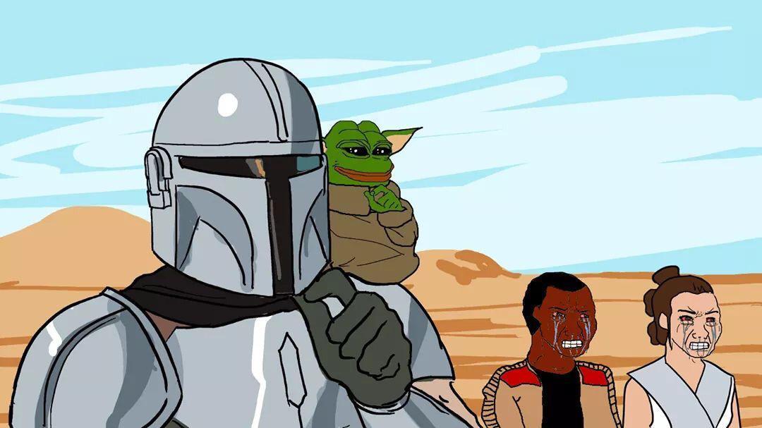Este es el camino Disney , no tu Rey la usurpadora. Pd: Hail Yoda chiquito - meme