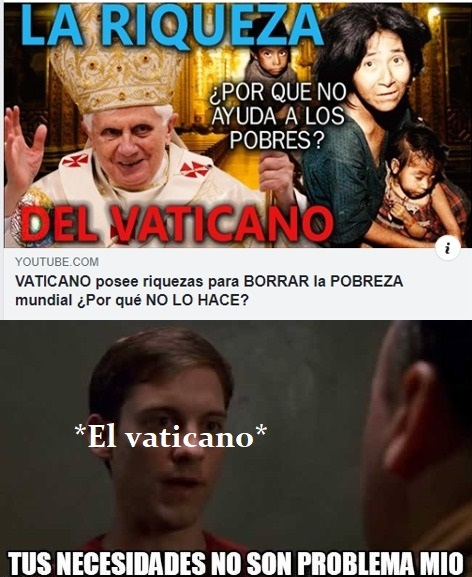 vaticano troll - meme