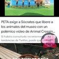 PETA haciendo su trabajo desde el hogar