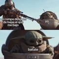 Baby Yoda ya no da risa :Change my mind: