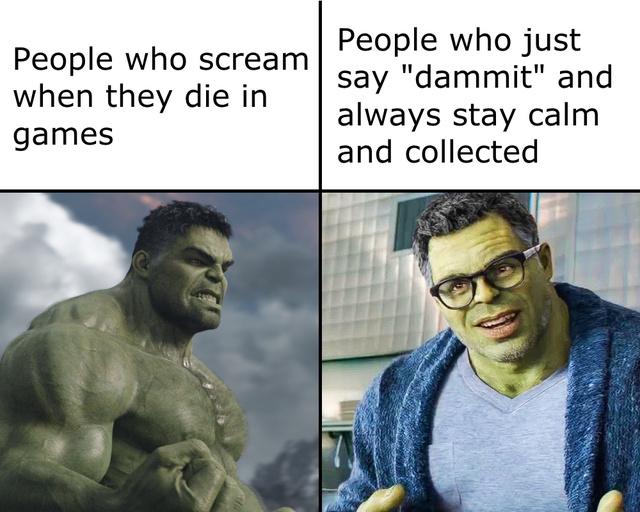 How do you die in video games - meme