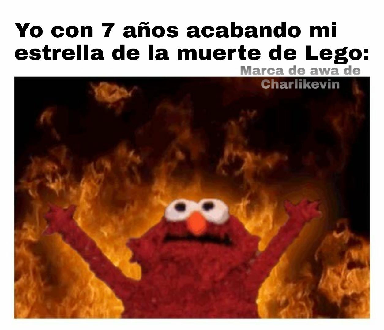 Ver el mundo arder - meme