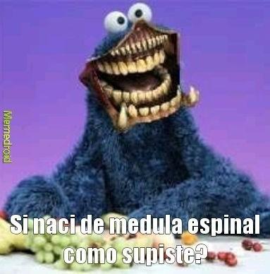 El come galletas de medula espinal - meme