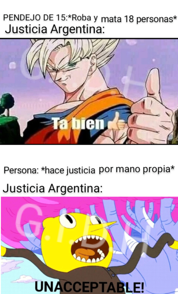 No sé si solo pasa en Argentina, díganme - meme