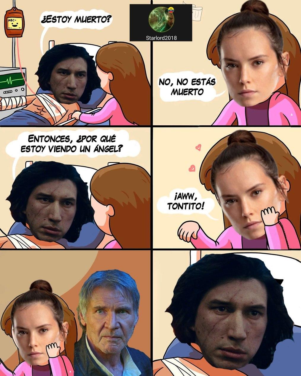 No encontré NINGUNA foto de Rey riendo - meme